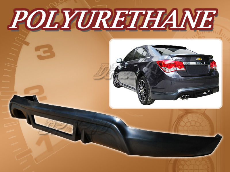 for 11 12 chevy cruze t 3 rear bumper lip body spoiler kit. Black Bedroom Furniture Sets. Home Design Ideas